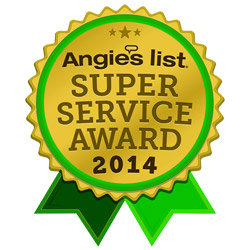The Floor Mart is a proud recipient of the 2014 Angie's List Super Service Award