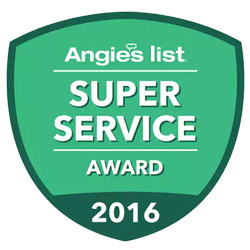 The Floor Mart is a proud recipient of the 2016 Angie's List Super Service Award